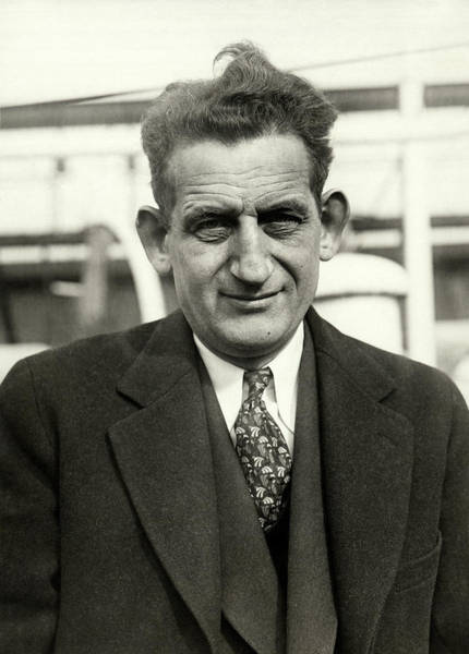Photograph - Author Sam Hellman by Underwood Archives