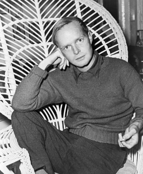 Wall Art - Photograph - Author Truman Capote by Roger Higgins