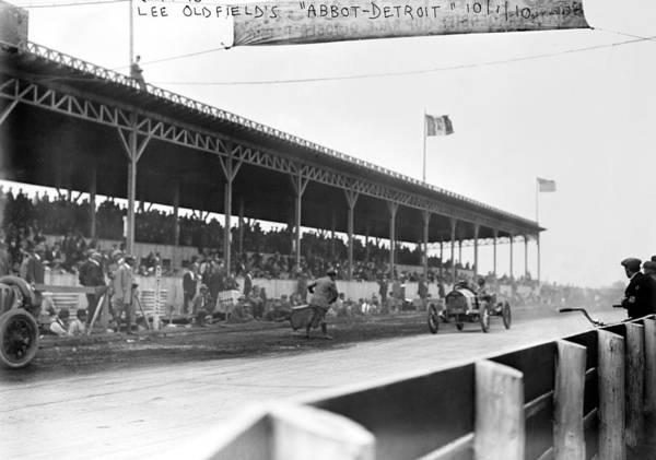 Photograph - Auto Race, C1910 by Granger