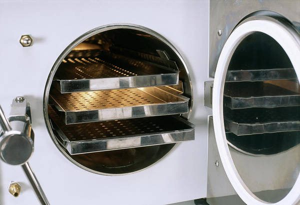 Wall Art - Photograph - Autoclave Oven by Steve Percival/science Photo Library