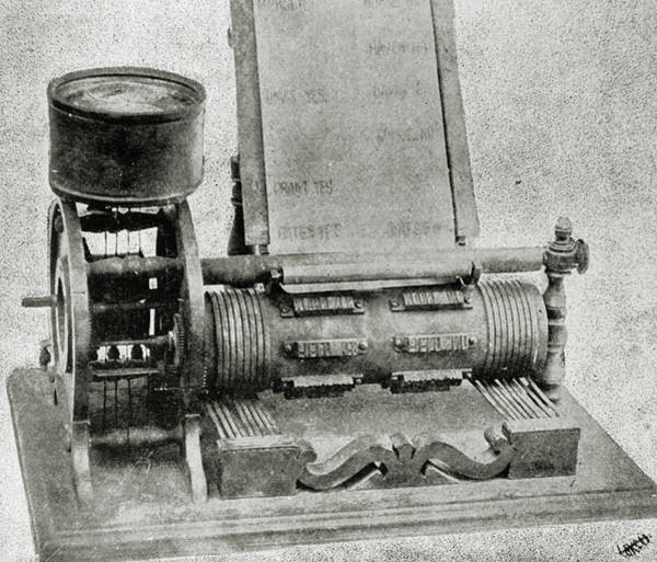 Vote Wall Art - Photograph - Automatic Vote Recorder Invented By Thomas Edison by Science Photo Library