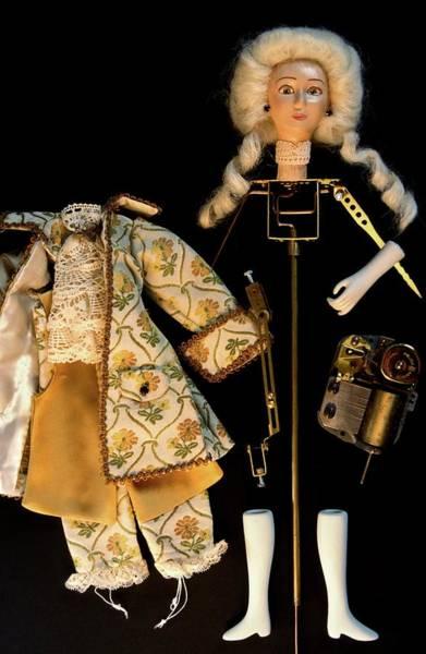 Doll Parts Photograph - Automaton Doll by Patrick Landmann/science Photo Library