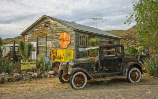 Painting - Automobile Veh392751 by Dean Wittle