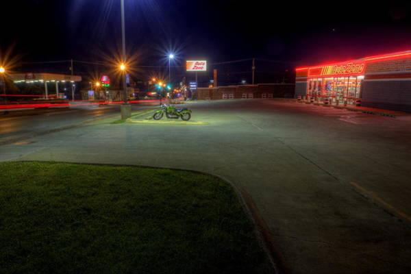 Photograph - Autozone Neon by David Dufresne