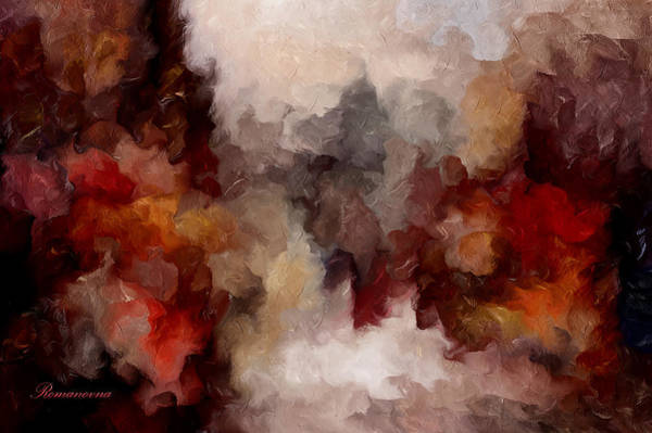 Autumn Abstract Art Print