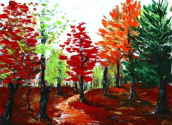 Painting - Autumn by Anastasiya Malakhova