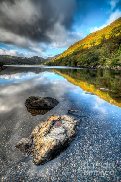 Coed Photograph - Autumn At Crafnant  by Adrian Evans