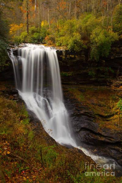 Nantahala Photograph - Autumn At Dry Falls by Bridget Calip