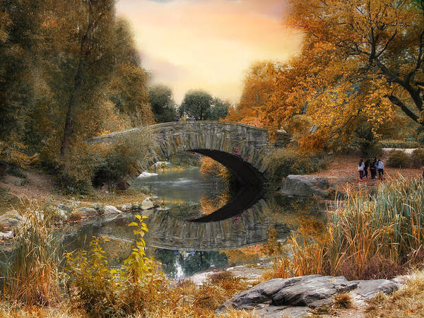 Photograph - Autumn At Gapstow Bridge by Jessica Jenney