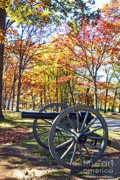 Wall Art - Photograph - Autumn At Gettysburg by Paul W Faust -  Impressions of Light
