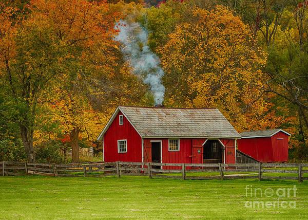 Joshua Clark Photograph - Autumn At Hale Farm by Joshua Clark