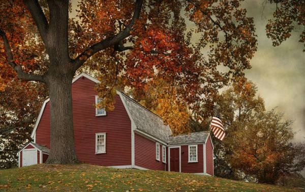 Photograph - Autumn At Home by Robin-Lee Vieira