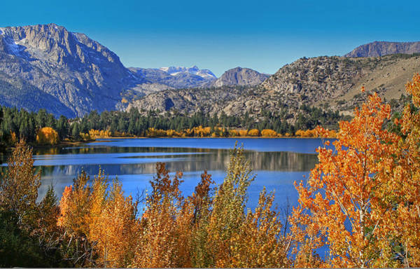 June Lake Photograph - Autumn At June Lake by Donna Kennedy