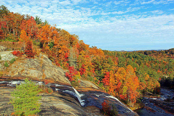 Photograph - Autumn At Lake Toxaway Falls by Jennifer Robin