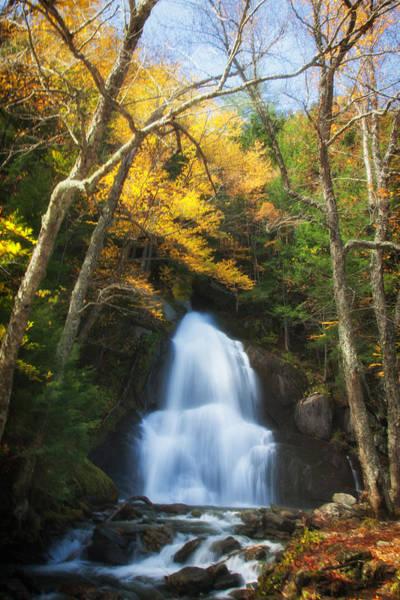 Photograph - Autumn At Moss Glenn Falls by Jeff Folger