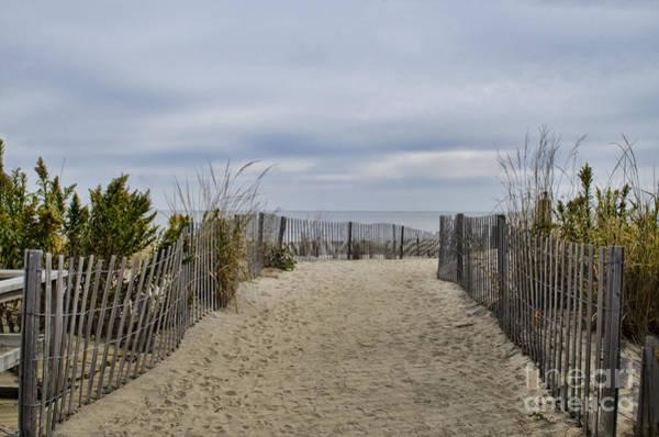 Rehoboth Beach Photograph - Autumn At The Beach by Judy Wolinsky