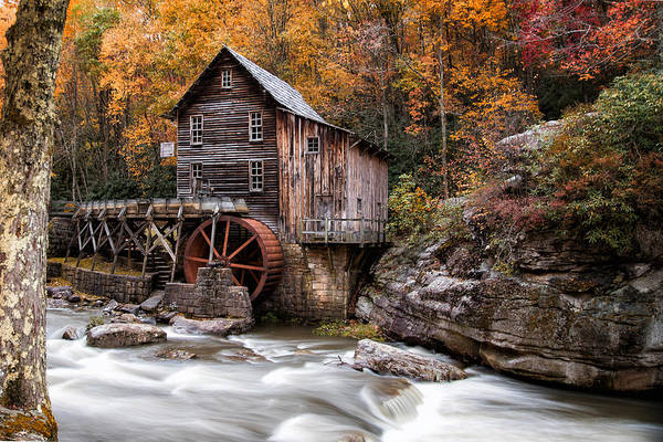 Photograph - Autumn At The Mill by John Kiss