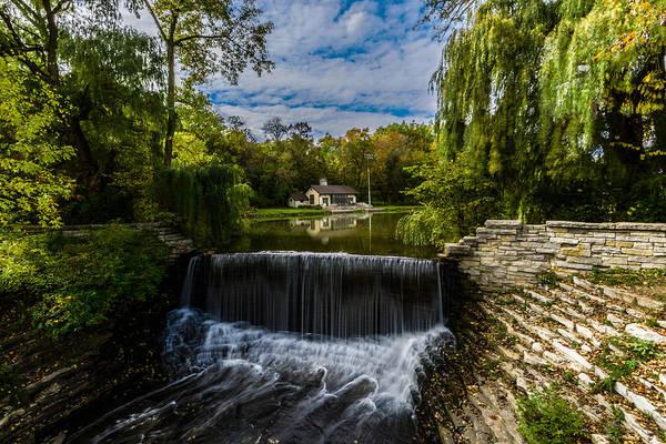 Photograph - Autumn At The Mill Pond by Randy Scherkenbach