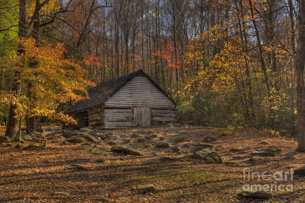 Photograph - Autumn Barn by Crystal Nederman