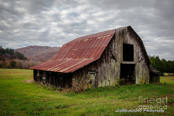 Photograph - Autumn Barn by Larry McMahon