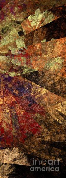 Digital Art - Autumn Bend by Andee Design