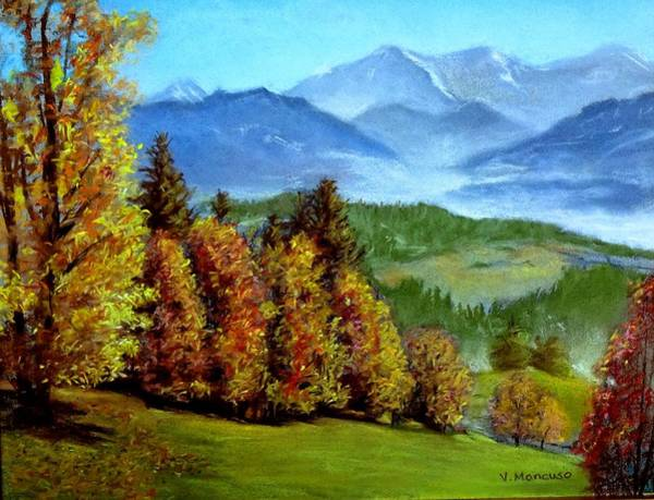 Adirondack Mountains Painting - Autumn Bliss by Vincent Mancuso