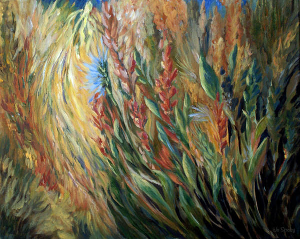 Painting - Autumn Bloom by Joanne Smoley
