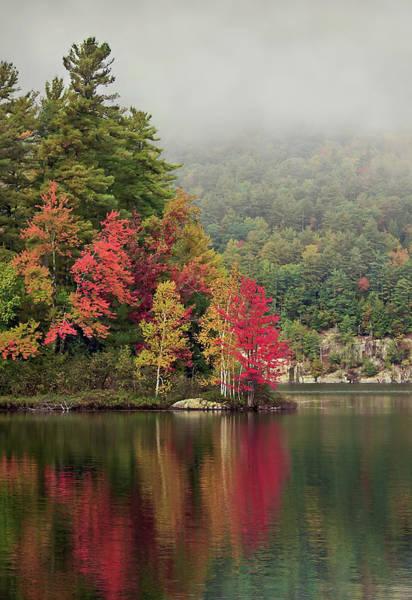 Pond Wall Art - Photograph - Autumn Breath by Evelina Kremsdorf