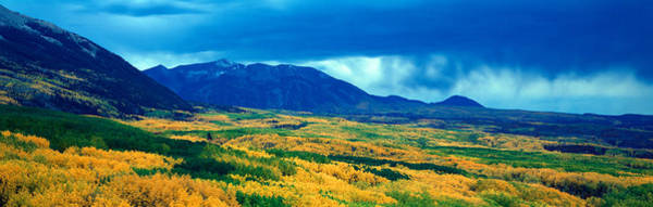 Escarpment Photograph - Autumn Clouds At Kebler Pass, Gunnison by Panoramic Images