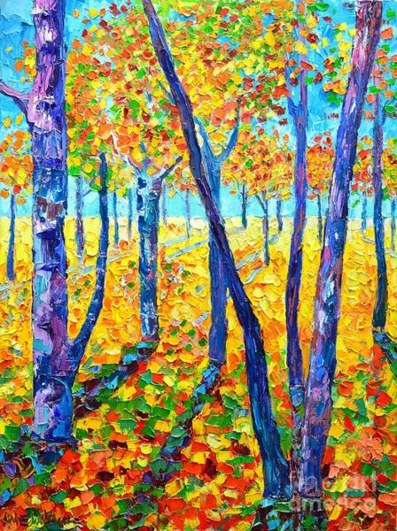 Wall Art - Painting - Autumn Colors by Ana Maria Edulescu