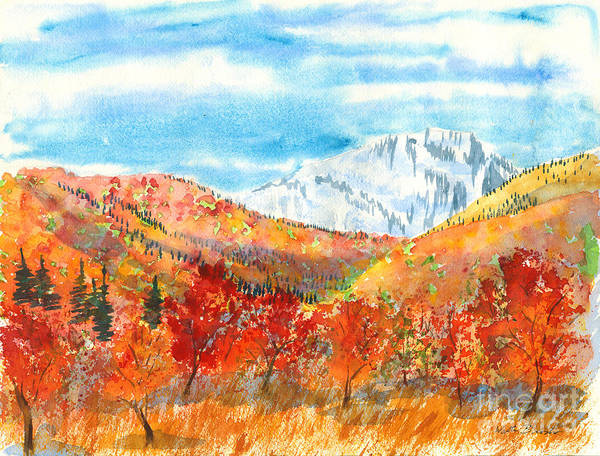 Painting - Autumn Colors by Walt Brodis