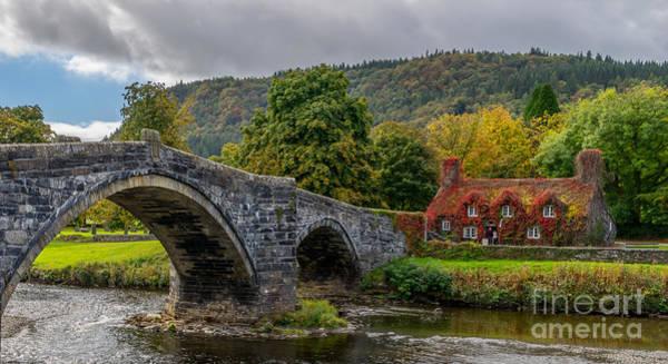 John I Photograph - Autumn Cottage by Adrian Evans