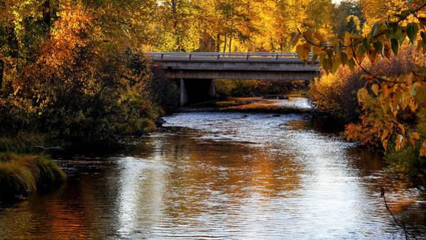 Nikon D5000 Photograph - Autumn Crossing by Jan Davies