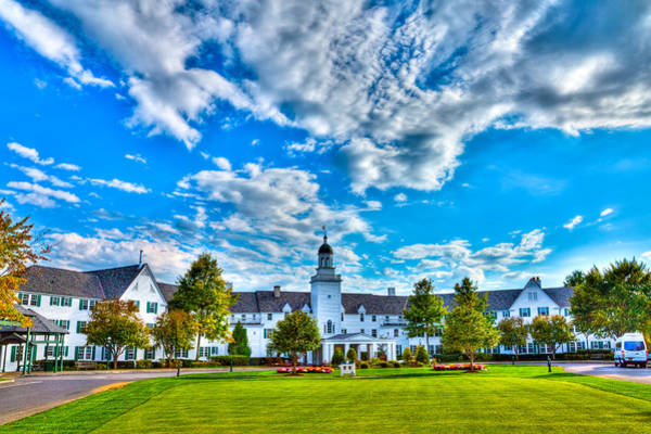 Wall Art - Photograph - Autumn Day At The Sagamore Resort by David Patterson