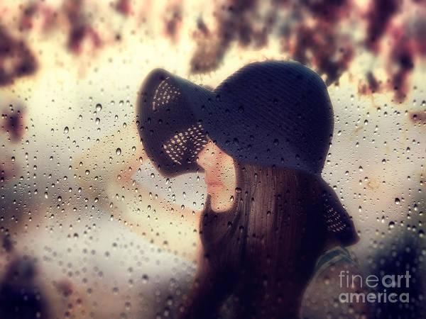 Rain Photograph - Autumn Dream by Stelios Kleanthous