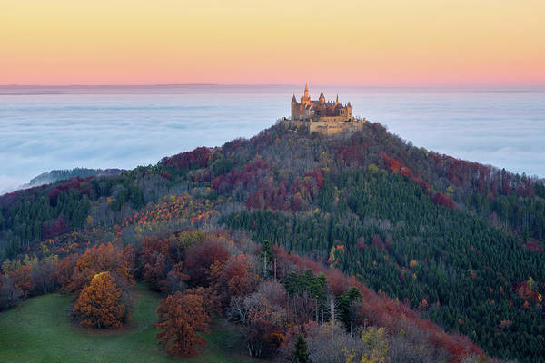 Castle Photograph - Autumn Fairytale by Daniel F.