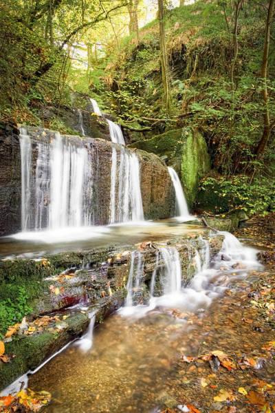 Christine Falls Photograph - Autumn Falls by Christine Smart