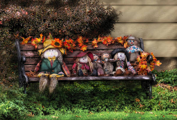 Photograph - Autumn - Family Reunion by Mike Savad