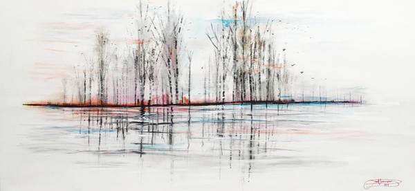 Painting - Autumn Flight by Jack Diamond