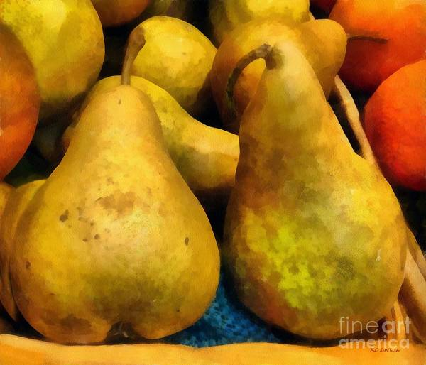 Painting - Autumn Fruit by RC DeWinter