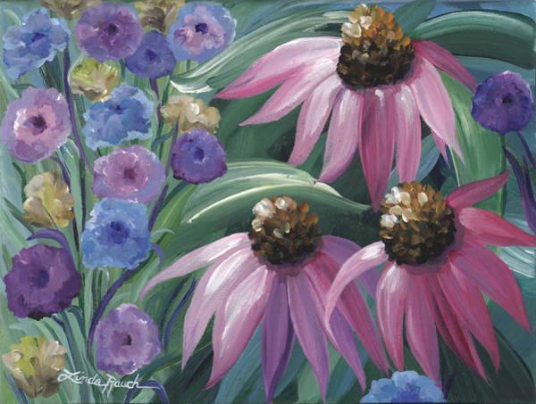Painting - Autumn Garden by Linda Rauch
