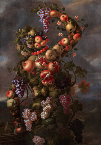 Potato Painting - Autumn by Giovanni Stanchi