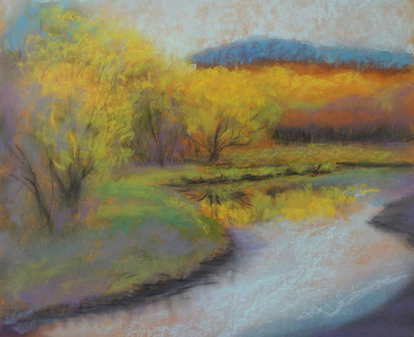 Painting - Autumn Glow At Catfish Corner by Sherri Anderson