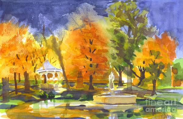 Painting - Autumn Gold by Kip DeVore