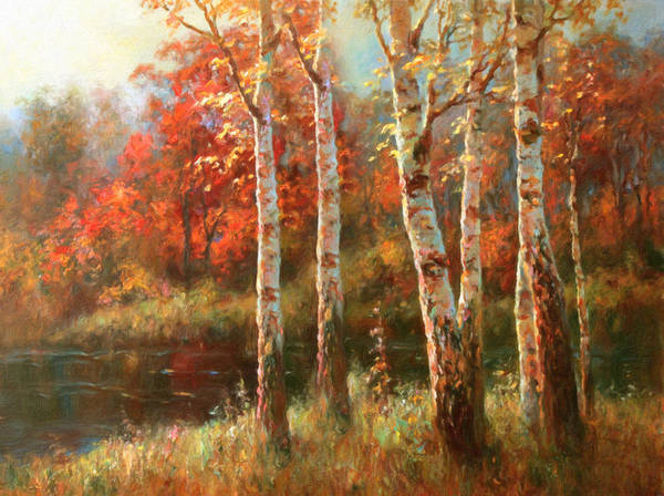 Painting - Autumn Grace by Isabella Howard