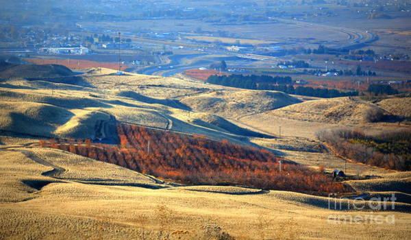 Photograph - Autumn Hills In Prosser by Carol Groenen