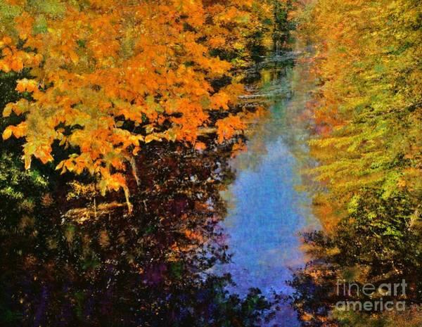 Photograph - Autumn Impression by Jeff Breiman