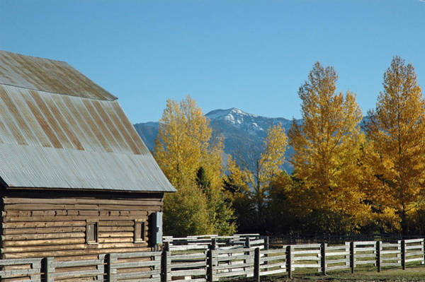 Photograph - Autumn In Bozeman Montana by Bruce Gourley