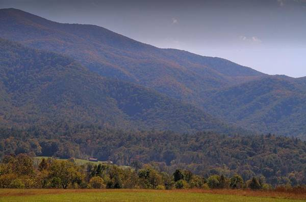 Cabin In The Woods Wall Art - Photograph - Autumn In Cades Cove Tennessee by Dan Sproul