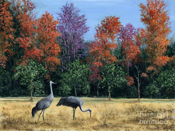 Changing Painting - Autumn In Florida by Marilyn Dunlap